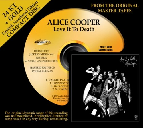 Love It to Death by Alice Cooper album cover