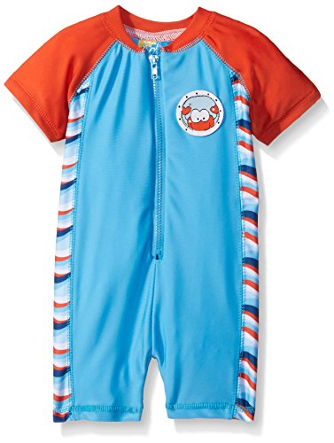 Sol Swim Baby Under The Sea 1 Piece Rashguard, Multi, 12 Months