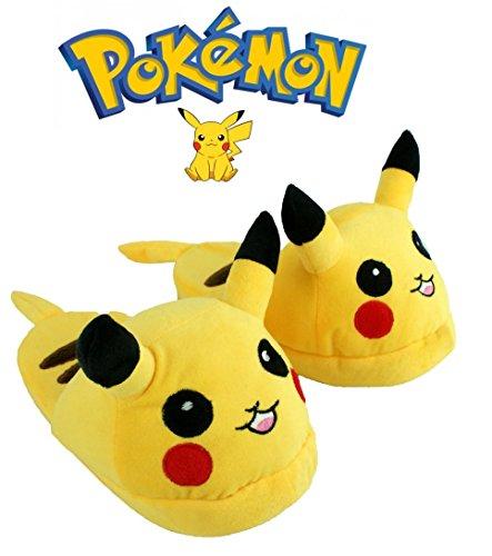 pokemon-pikachu-slip-on-mule-warm-novelty-unisex-slippers-small-3-4