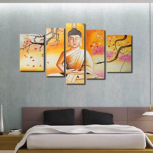 999Store Multiple Frames Handmade Large Golden Buddha Oil Painting ...