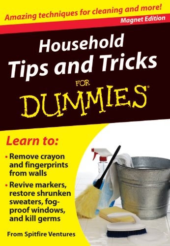 Household Tips and Tricks for Dummies: Amazing Techniques for Cleaning and More!