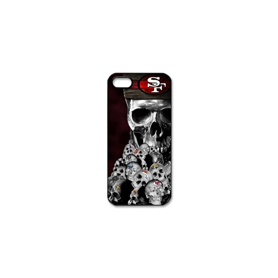 WY Supplier NFL San Francisco 49ers Team Case Cover for Apple Iphone 5 Case WY Supplier 148166  Sports Fan Cell Phone Accessories  Sports & Outdoors