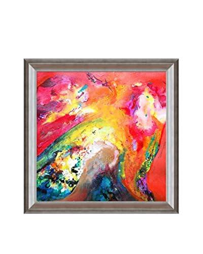 "Sanjay Punekar ""Harmony"" Framed Canvas Print"