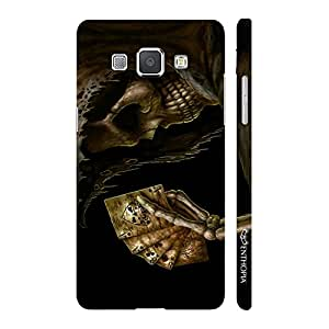 Enthopia Designer Hardshell Case DEATHLY FULL HOUSE Back Cover for Samsung Galaxy A8
