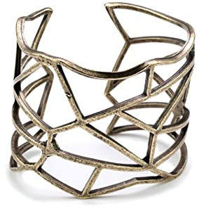 Low Luv by Erin Wasson Bronze Plated Cut-out Cuff