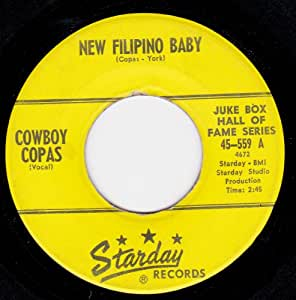 Cowboy Copas - New Filipino Baby/Signed Sealed And