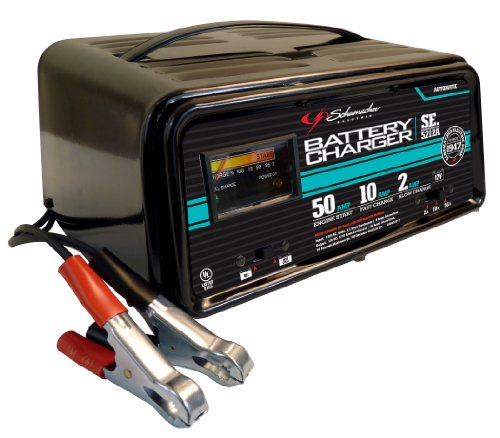 Schumacher SE-5212A 2/10/50 Amp Automatic Handheld Battery Charger (Automotive Batterys compare prices)