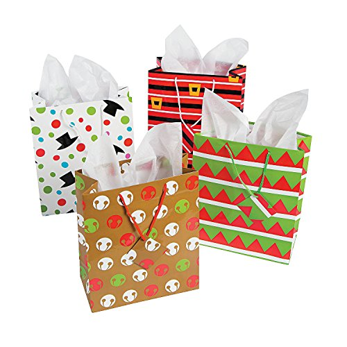 12-Assorted-Christmas-Gift-Bags-Medium-Size-Assorted-Bright-Prints