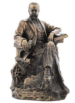 Unicorn Studios WU75643V4 Pyotr Ilyich Tchaikovsky Composer Sculpture