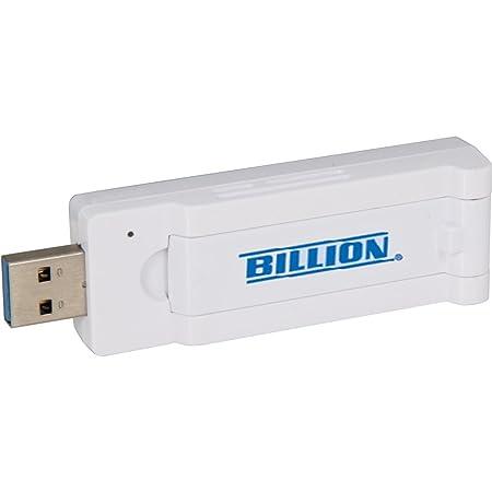 Billion BiPAC 3010adaptateur USB sans fil WiFi AC Double bande 2,4GHz + 5GHz 867Mbps + 300Mbps