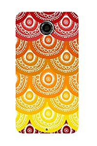 ZAPCASE Printed Back Case for GOOGLE NEXUS 6