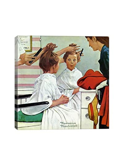 Norman Rockwell First Trip To The Beauty Shop Giclée Print