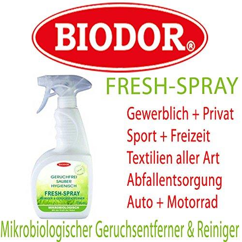 biodor fresh spray 750ml spr hflasche mikrobiologischer geruchsentferner reiniger. Black Bedroom Furniture Sets. Home Design Ideas