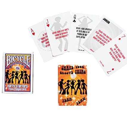Bicycle Bicycle Deckades 70's & 80's Playing Cards
