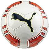 Puma Kinder Fußball EVO Power Lite, White/Fluro Peach, 5, 0...