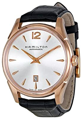 Hamilton Men's H38645755 Jazzmaster Slim Silver Dial Watch from Hamilton