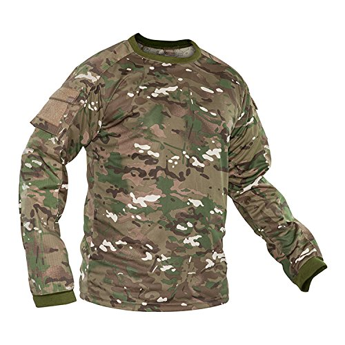 Valken Tactical KILO Combat Shirt, Operational Camouflage Pattern, Medium (Paintball Pants And Jersey compare prices)