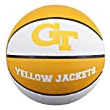 NCAA Georgia Tech Yellow Jackets Collegiate Deluxe Official Size Rubber Basketball, 29.5-Inch/Georgia Tech Yellow Jackets