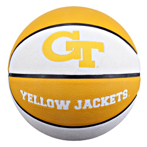 yellow jackets logo basketball georgia tech yellow