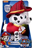 Paw Patrol - Deluxe Lights and Sounds Plush - Real Talking Marshall