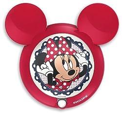 Philips Disney Sensor night light 71766/31/16 Minnie red LED