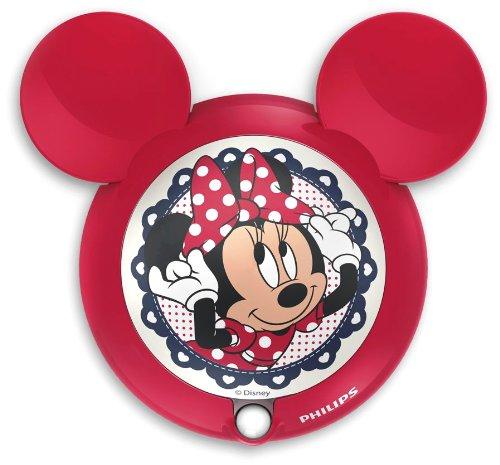 Philips e Disney, Minnie Mouse, Luce notturna LED con sensore di movimento