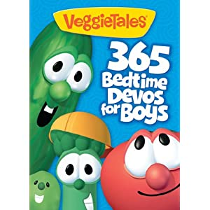 VeggieTales: 365 Bedtime Devos for Boys