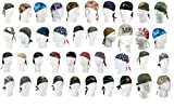 Camouflage, Solid Color, Army, Navy, Military & USMC Headwraps - All Colors
