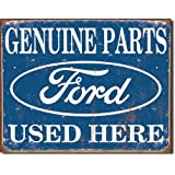 Tin Sign Ford Parts , 16x13