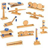 ETA hand2mind, Simple Wooden Machine Collection: Work, Force, and Energy Models, Set of 12, (55982)