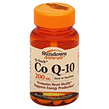 Sundown Naturals Co Q-10, Q-Sorb, 200 mg, Softgels, 30 softgels