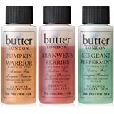 butter LONDON The Holiday Remover Collection, Set, 3 x 59 ml