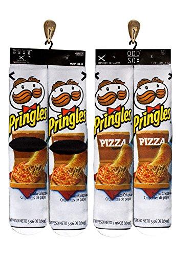 Odd Sox Pringles Socks, Fits Sizes 6-11