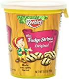 Keebler Mini Cookies Cup, Fudge Stripe, 3 Ounce (Pack of 10)