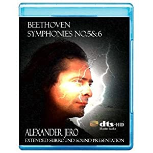 Beethoven: Symphony No. 5 'Fate' & 6 - The New Dimension of Sound Symphonic Series [7.1 DTS-HD Master Audio Disc] [BD25 Audio Only] [Blu-ray]