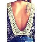 Zeagoo Women Backless Long Sleeve T-shirt Casual Blouse Tops Shirt