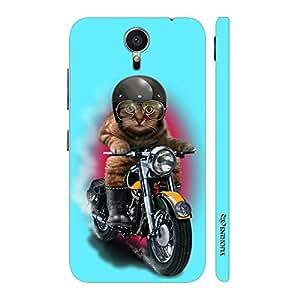 Enthopia Designer Hardshell Case Cat Coolio Back Cover for Meizu MX6