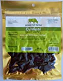 Original Beef Jerky, 5-Pack (100% Grass-Fed) - Grass Run Farms - Gluten-Free - No Antibiotics or Hormones (3-oz Pkgs)