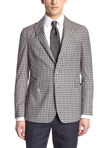Gi Capri Men's Mini-Check Jacket
