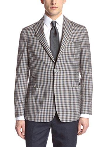 Gi Capri Men's Mini-Check Jacket