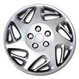 TuningPros WSC-007BS15 Hubcaps Wheel Skin Cover 15-Inches Silver Set of 4