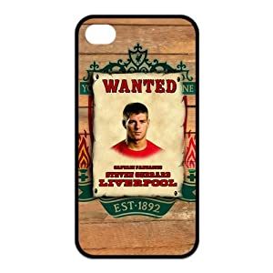 Custom Your Own Stylish Steven Gerrard Protective Case Cover for Iphone 4 4S by SpecialCasedesign