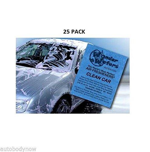 [해외]이상한 웨이퍼 25 CT 개별적으로 감싸 인 청결한 자동차 공기 청정제/Wonder Wafers 25 CT Individually Wrapped Clean Car Air Fresheners