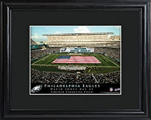 Personalized NFL Stadium Print with Wood Frame - Philadelphia Eagles Stadium Print by JDS Marketind