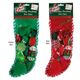 Zanies Holiday Cat Stocking Red