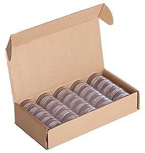 Estilo Estilo High Quality Clear Plastic Jars, Cosmetic Containers with Lids 10 Gram - 25 count