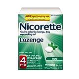 Nicorette Lozenge, Mint , 4mg, 72-Count
