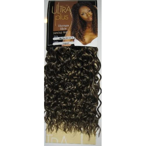 "Amazon.com: Ultra Plus Jerry Curl Human Hair Weave Extension 8"" 10"" 12"