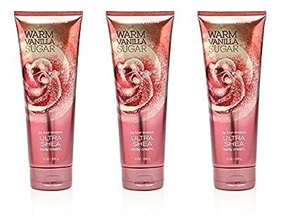 Bath & Body Works Warm Vanilla Sugar 8.0 oz Ultra Shea Cream