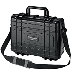 Storage Carry Case for Sensitive Equipment and Valuable Sample, Waterproof, Shockproof, 10\